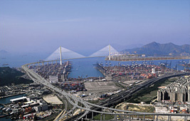 Hong Kong Stonecutters Bridge